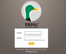 ERPAL for Service Providers login