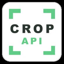 Crop API logo.
