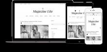 Magazine Lite, for Drupal 8