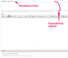 Mandatory Summary: Screenshot of it functionality