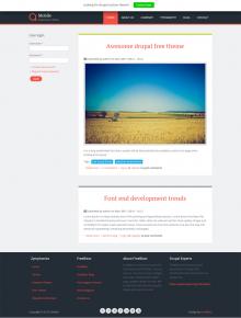 Drupal responsive theme