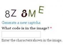Image CAPTCHA Refresh