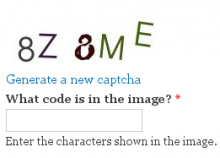 Image CAPTCHA Refresh