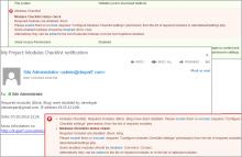Modules Checklist