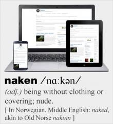 Naken, the nude responsive starter theme of Groundwork Front-end Framework