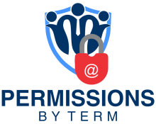 Permissions by Term Logo