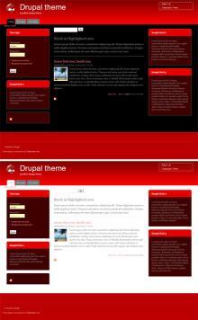 Drupal theme
