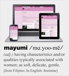 Screenshot of Mayumi, a feminin sub-theme of Groundwork Front-end Framework