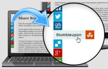 Responsive Share Buttons