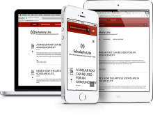 Scholarly Lite, a 'mobile-first' first Drupal theme, based on Bootstrap 3
