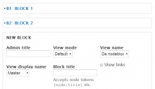 The nodeblox admin page, where you create the blocks.