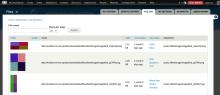 File list screenshot of Workbench Media