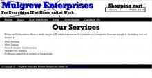Mulgrew Enterprises Drupal Theme