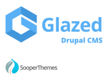 Glazed Drupal CMS by SooperThemes