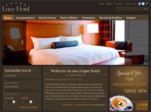 Web solution for hospitality companies using Drupal theme