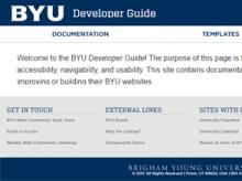 BYU Theme Screenshot