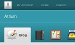 Screenshot of Gingko header