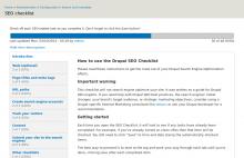SEO Checklist intro