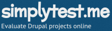 Evaluate Drupal projects online | simplytest.me
