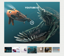 Slick media entity video embed youtube