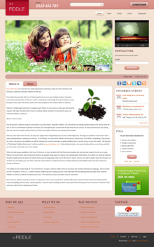 ST Fiddle - Free Drupal theme
