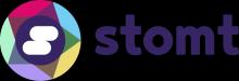 STOMT Logo 2017 with wordmark purple transparent