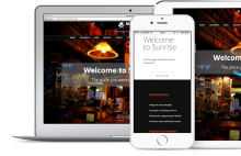 Sunrise, responsive theme for Drupal based on original WP theme by Site5