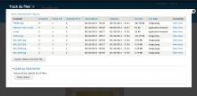 Track da files main report example