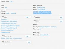 Views Entity Access VIEWS options