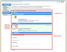 Webform view