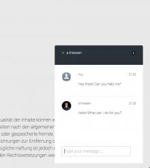 Slack integration for your website