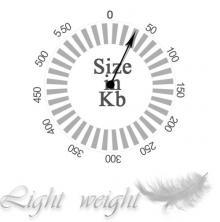 Light weight theme