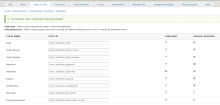 workflow state config page