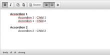 Description list plugin into WYSIWYG