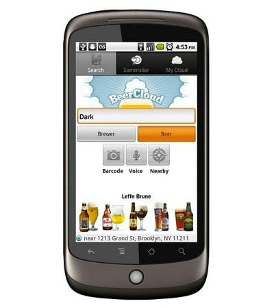 BeerCloud on Android