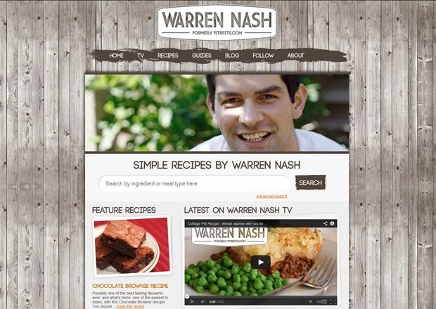 Warren Nash homepage