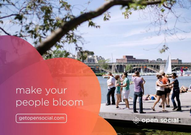 Make your people bloom with Open Social at getopensocial.com