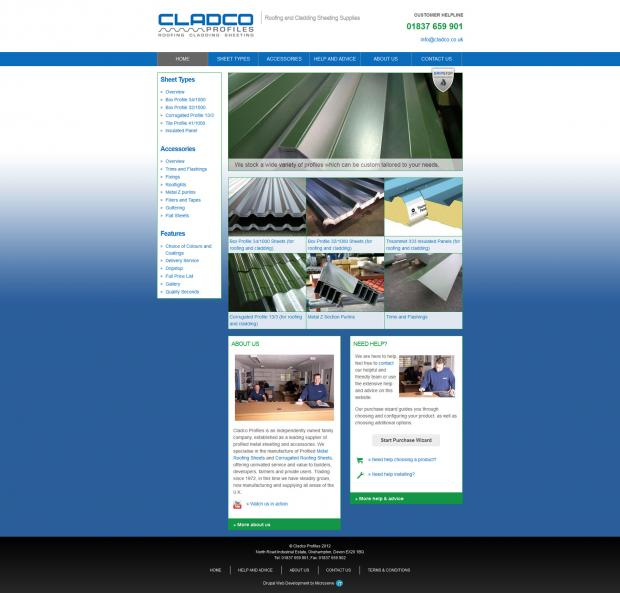 The Cladco Home Page