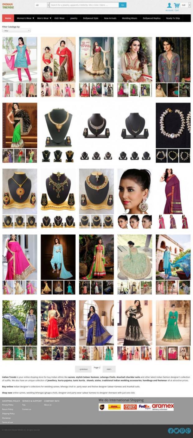 Indian Trendz Online Ethnic Wear Store Drupal Org
