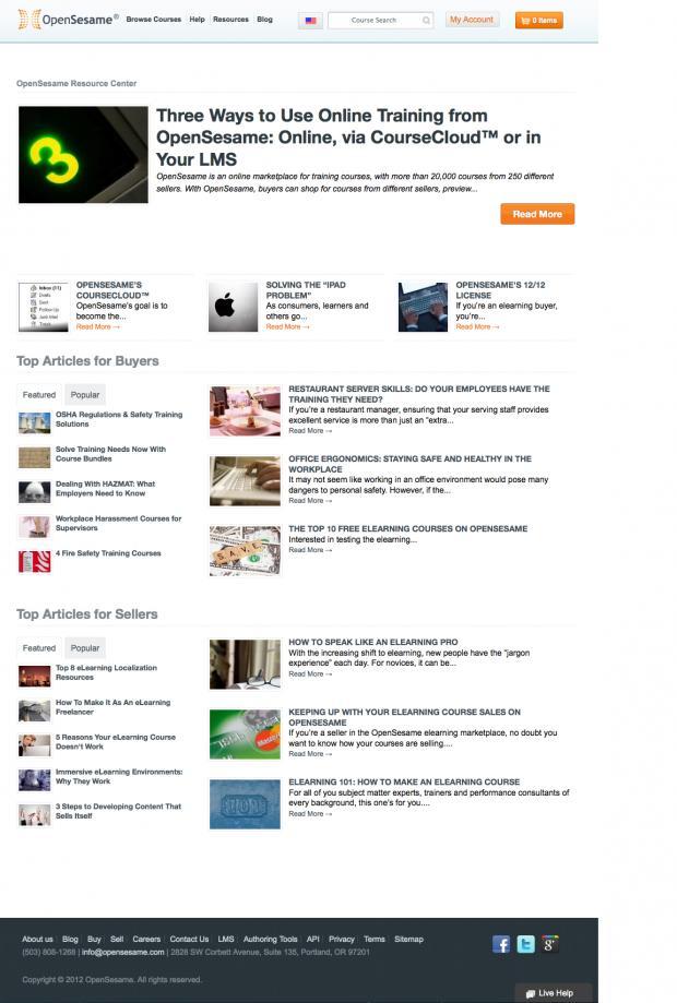OpenSesame Resources