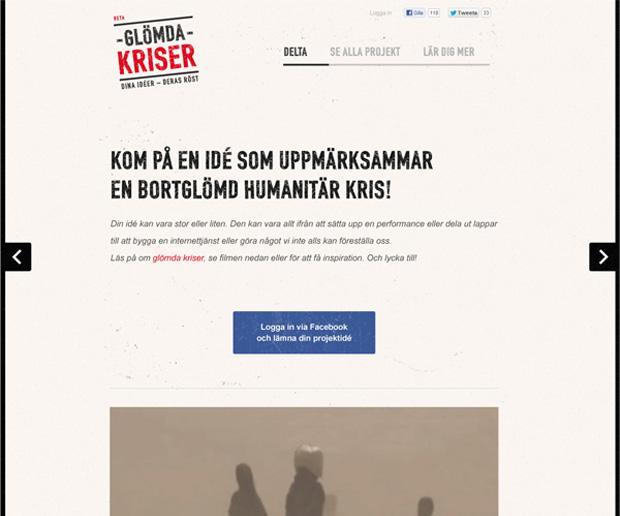 Glömda Kriser Start page
