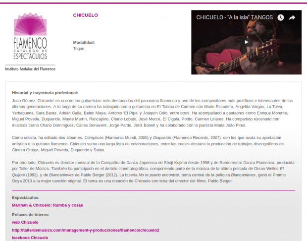 Rojomorgan Drupal Case Study Catalog of Flamenco Shows in Andalusia company profile.png