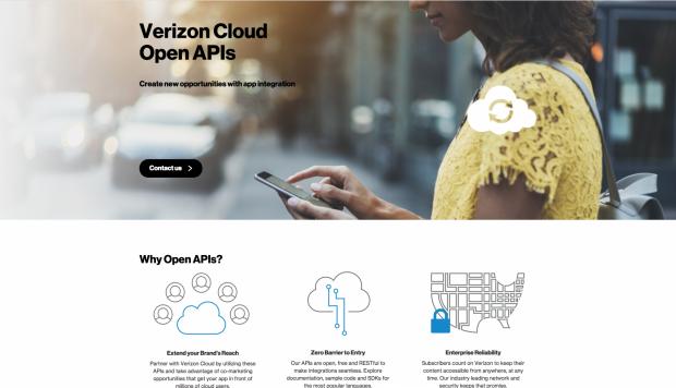 Cloud API's Homepage