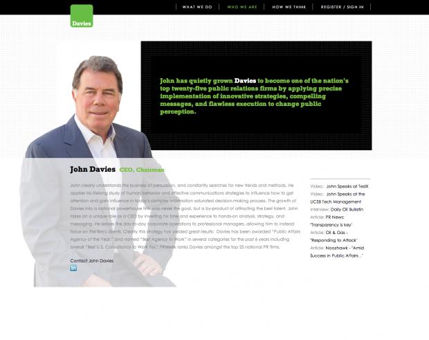 Davies Leadership - John Davies