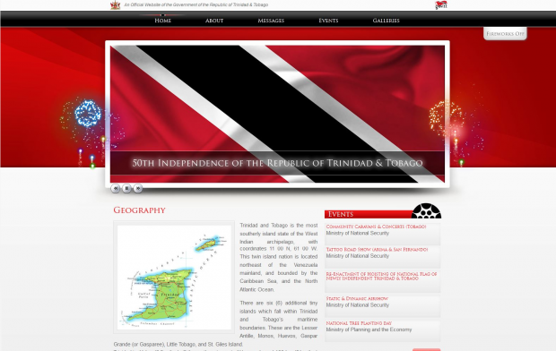 50th Anniversary of the Independence of Trinidad & Tobago