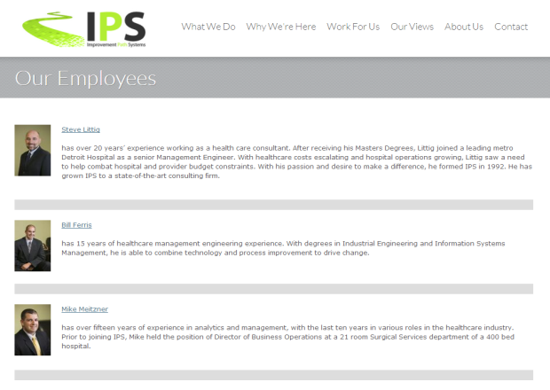 IPS Team Bios
