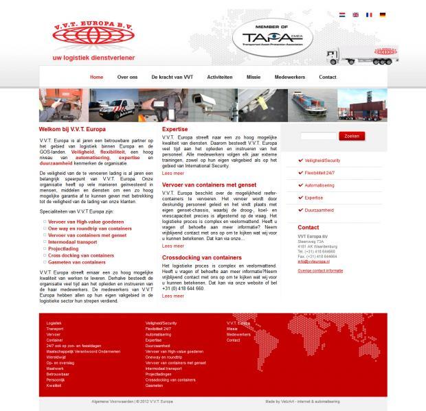 V.V.T. Europa - Logistics service - Waardenburg - the Netherlands