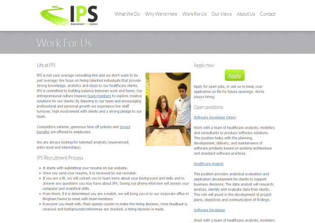 Work For IPS