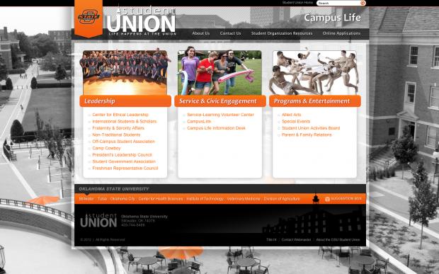 OSU Campus Life Homepage