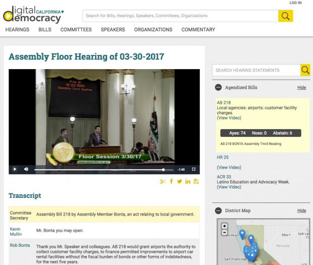 Hearing Video Display